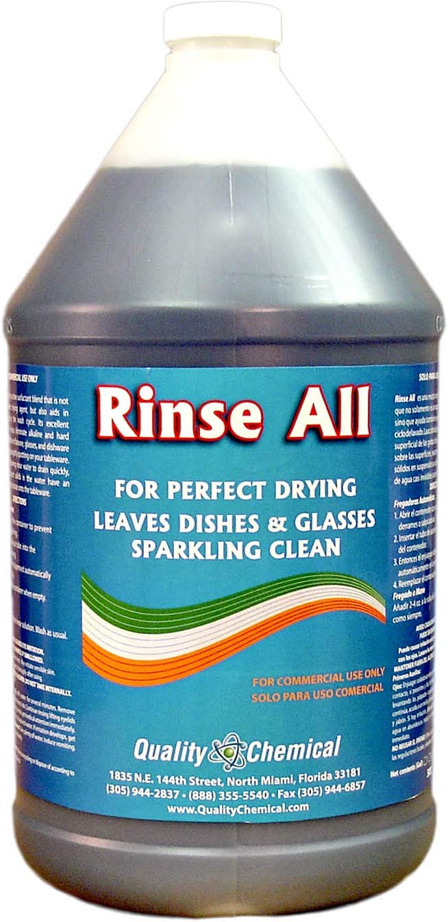 Rinse All - Commercial Industrial Grade Rinse Aid-1 gallon (128 oz.)