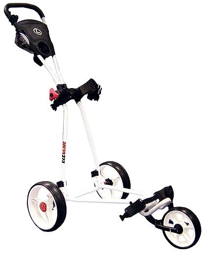 Eze Glide - Carrito de golf con 3 ruedas blanco blanco
