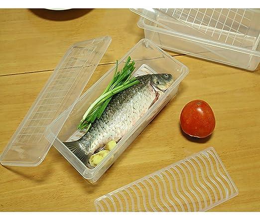 Frigorífico organizador cajón caso alimentos contenedores de ...