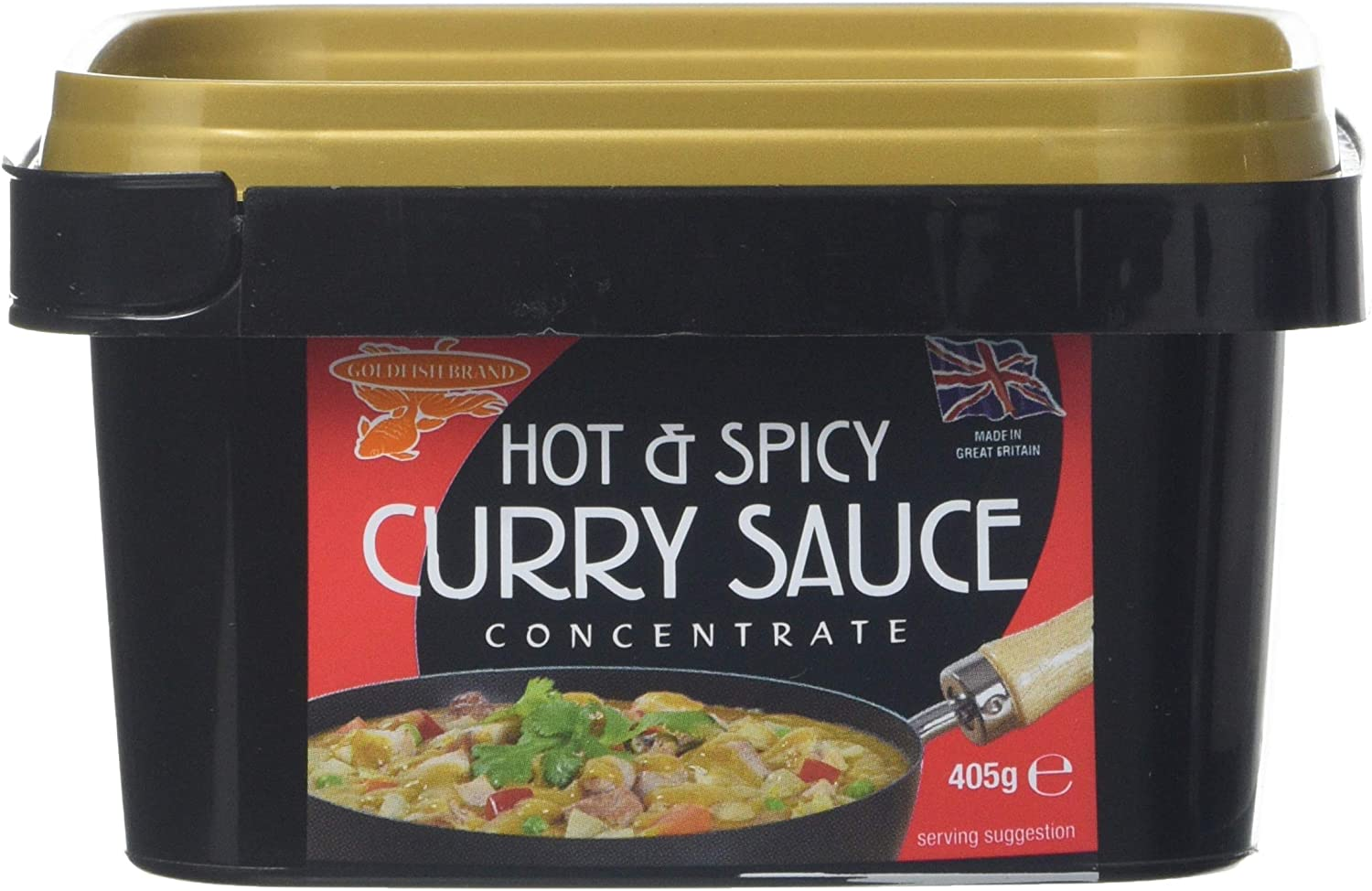 Goldfish Chinese Hot And Spicy Curry Concentrate 405 G
