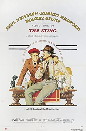 The Sting 1973 U.S. One Sheet Poster at Amazon's Entertainment Collectibles  Store