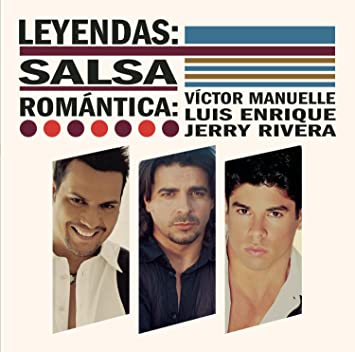 Leyendas:Salsa Romantica: Victor Manuelle, Luis Enrique: Amazon.es: Música
