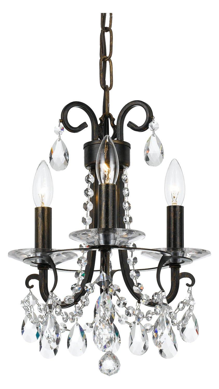 Amazon.com: Othello 3 luz Clear Crystal Inglés Bronce Mini ...