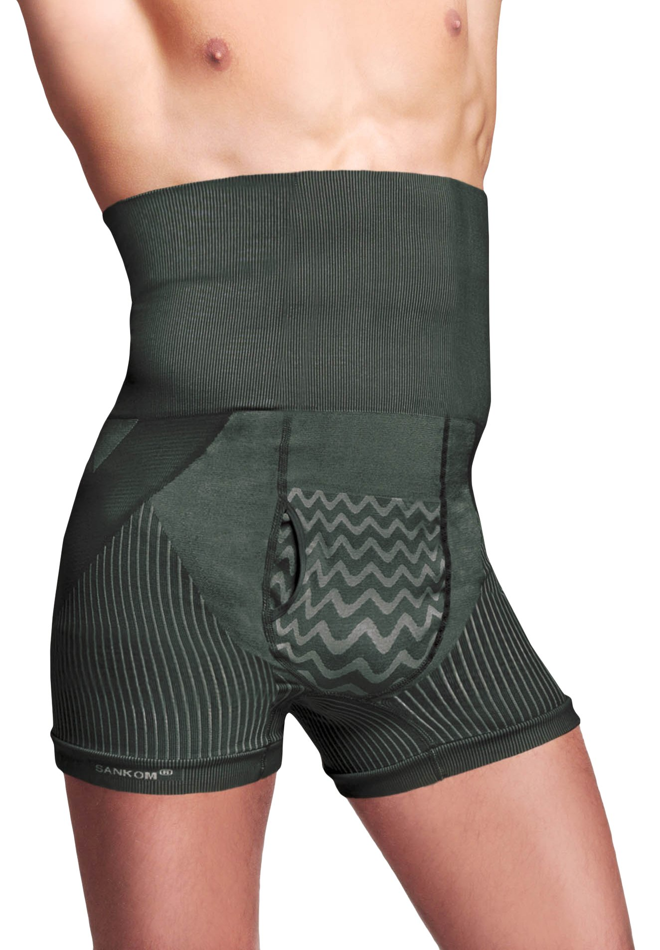 Sankom Men's Posture Correction Shaper Shorts