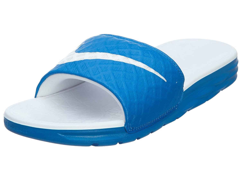 NIKE Women's Benassi Solarsoft Slide Sandal B00PZBSP06 7 B(M) US Soar/White