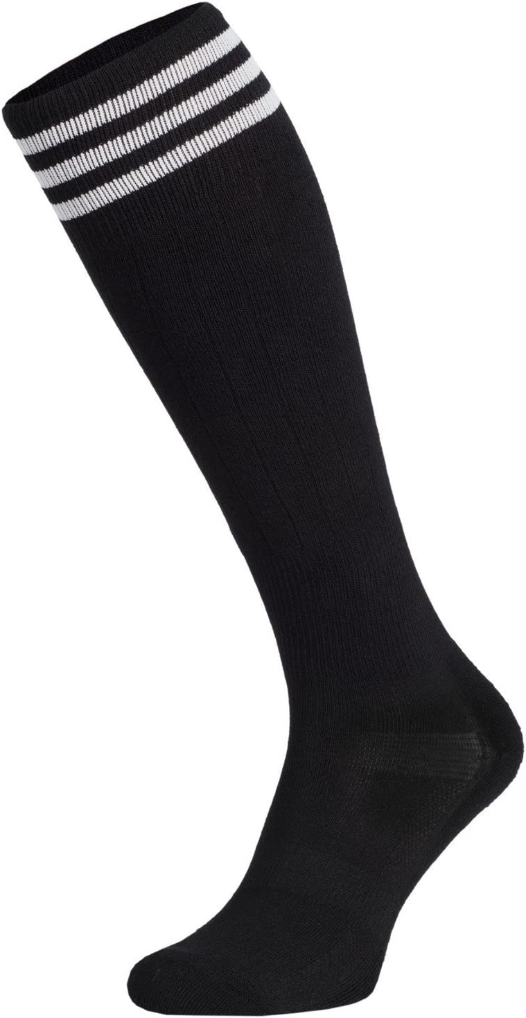 fitness calze da donna in cotone corsa pattini in linea ideali per pallavolo Nessi danza al ginocchio