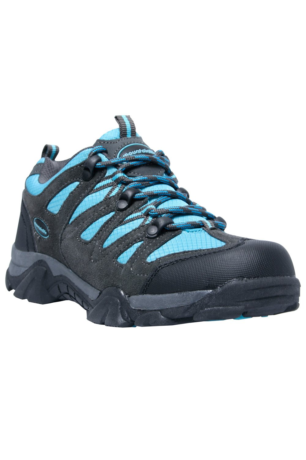 Mountain Warehouse Cannonball Kids Walking Shoes - Hiking Shoes Blue 1 Child US