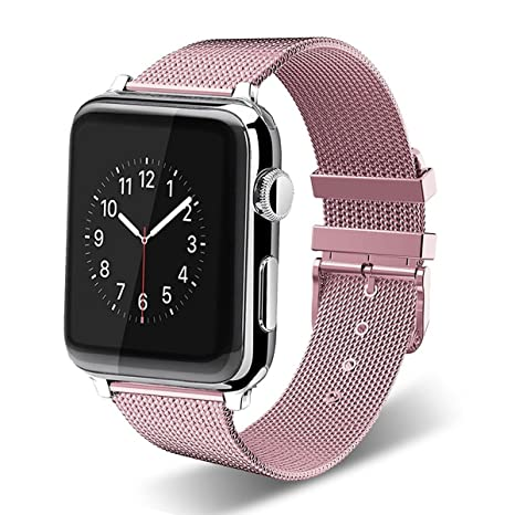 APPLE Watch Pulsera, Milanese correa acero inoxidable Smart Watch ...