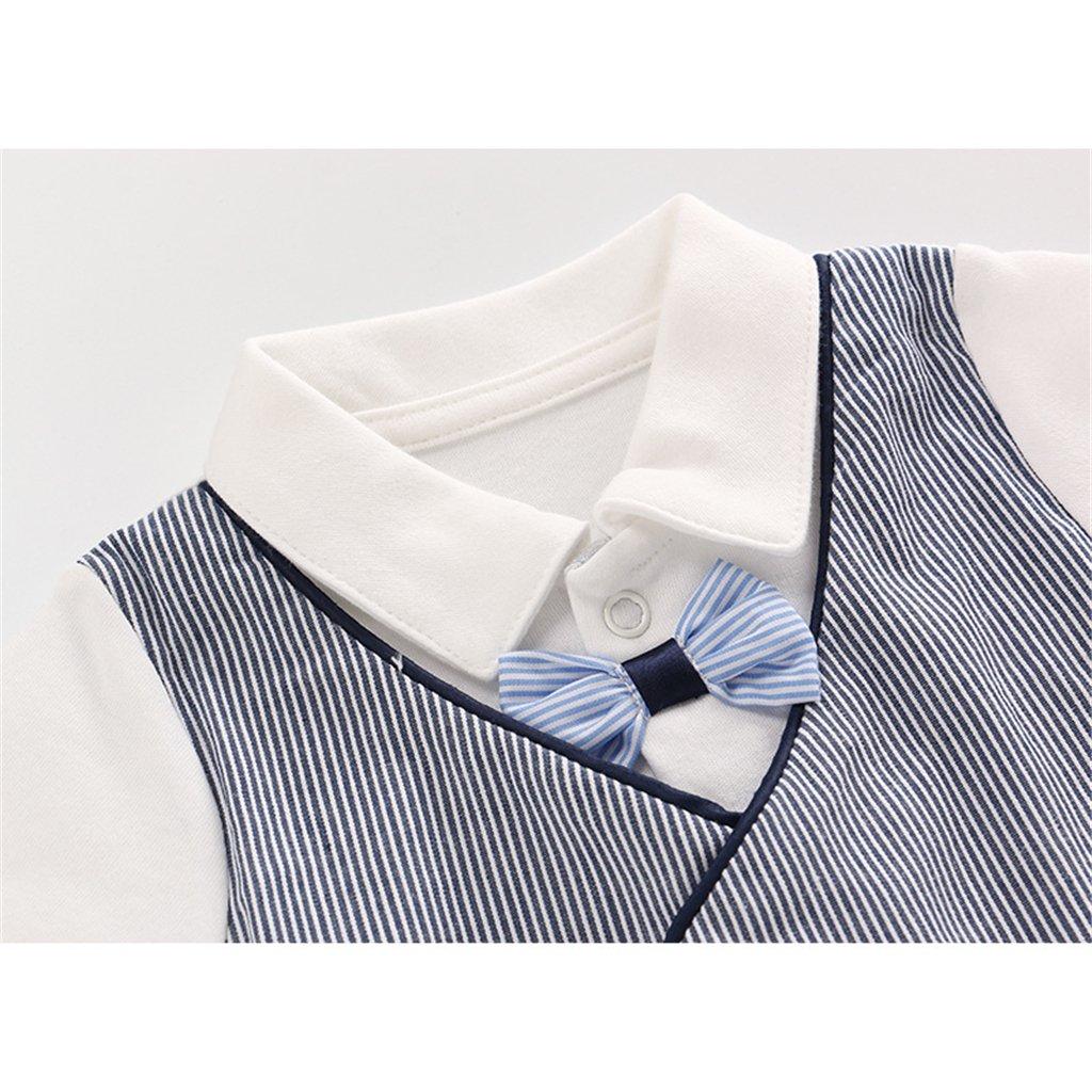 Vine B/éb/é Combinaison V/êtements Cotton Romper Coverall Tenues Jumpsuit Salopette /Âge 0-24 mois