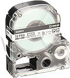 キングジム テープカートリッジ テプラPRO 強粘着 9mm SS9KW 白