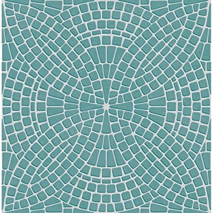 Rasch Chevron Teal Stripe Glitter Kitchen Bathroom Geometric Wallpaper 888218