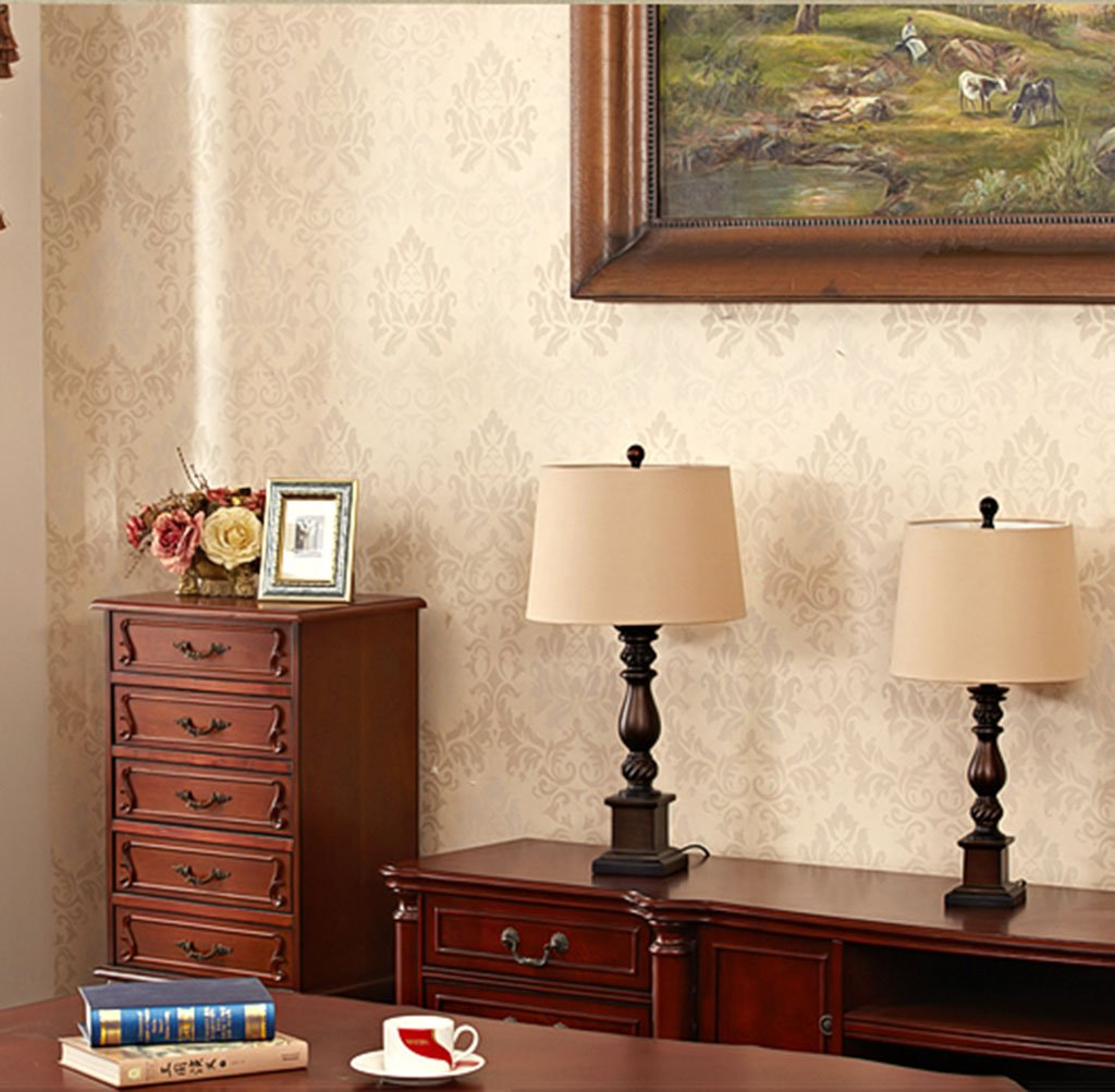 WYDM Amerikanische Tischlampe Schlafzimmer Nachttisch Land Land Land retro Jane europäischen Typ Nachttischlampe (größe   A) B07HYW3SVR | Sehr gute Qualität  b64a40