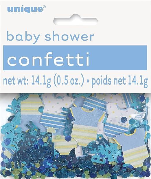 kitchen 41710 4ct Unique Industries Inc 6 Mini Blue Elephant Boy Baby Shower Decorations
