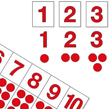 Ziffern Chips Mit Montessori Material Die Zahlen Bis 10 Lernen
