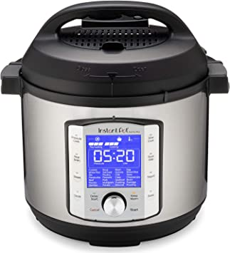 Instant Pot Duo Evo Plus 9-in-1 Electric Pressure Cooker, Slow Cooker, Rice Cooker, Grain Maker, Steamer, Saute, Yogurt Maker, Sous Vide, Bake, and ...