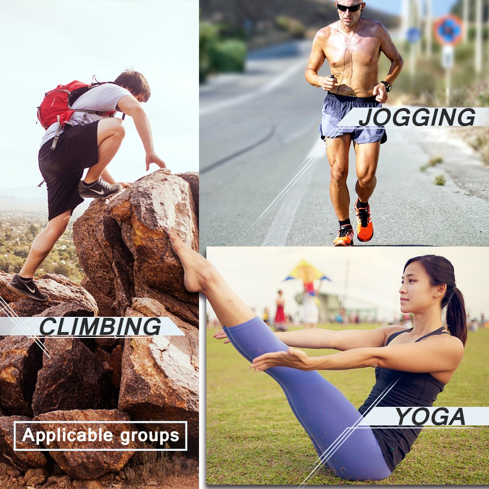 Non-Slip Sports Ankle socks Comfortable Seamless Toe Cycling Running Hiking Adults Men /& Women