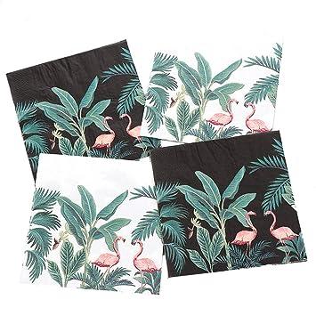Amazon.com: Bilipala - Servilletas de papel con diseño de ...