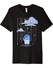 Disney Pixar Inside Out Sad Rain Graphic T-Shirt
