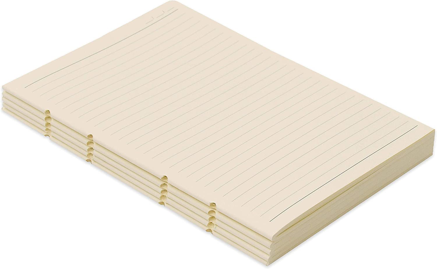 Journal Refill Lined Paper - A5 Paper Refill for Elizo Leather Journal Refillable - Cream Acid Free Paper 7x9