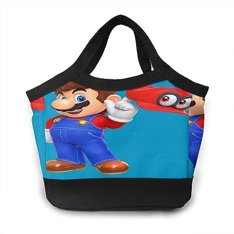 Amazon.com: ETHAN SHAW Mario Odyssey Bolsa térmica para el ...