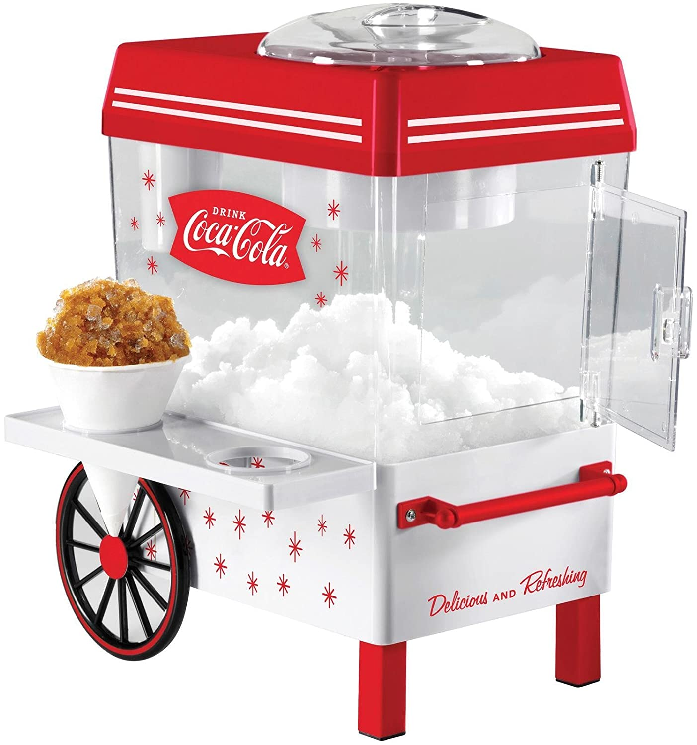 Nostalgia SCM550COKE Coca-Cola Series Snow Cone Maker, Red by Nostaglia   B01DA4R6MW