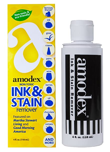 Amodex Ink And Stain Remover, 4 Ounce
