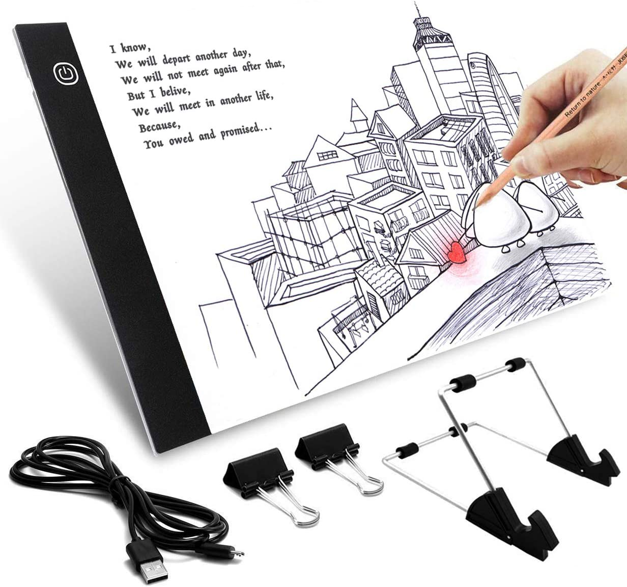Amazon Com Better Selection Diamond Painting Light Board A4 Portable Led Light Box For Art Craft 5d Diy Diamond Painting Drawing Accessories For Adults Or Kids Great Gift Idea