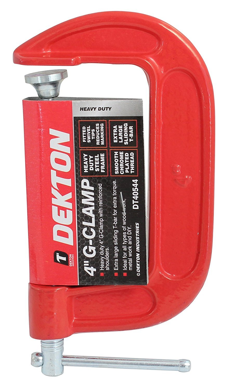 8/'/' Dekton G Clamps Carpentry//Wood//Metal Welding Cramp Grip Vices