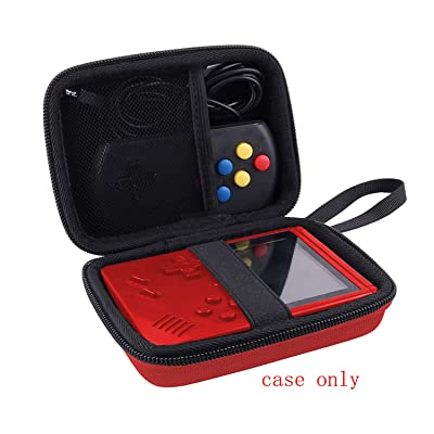 Aenllosi Hard Carrying Case for JAMSWALL Handheld Game Console (red,only case): Toys & Games