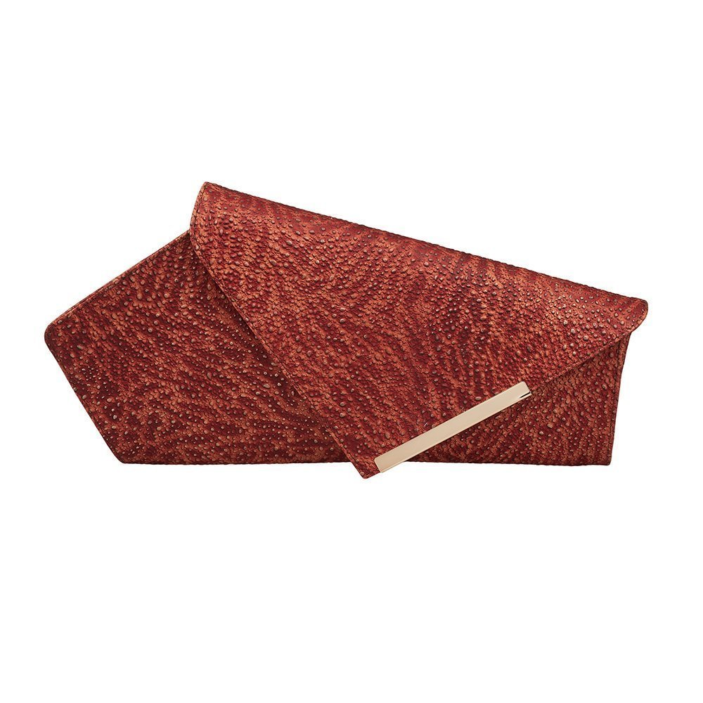 Asymmetric Women Leather Clutch Bag Fantesie ONE PIECE ONLY