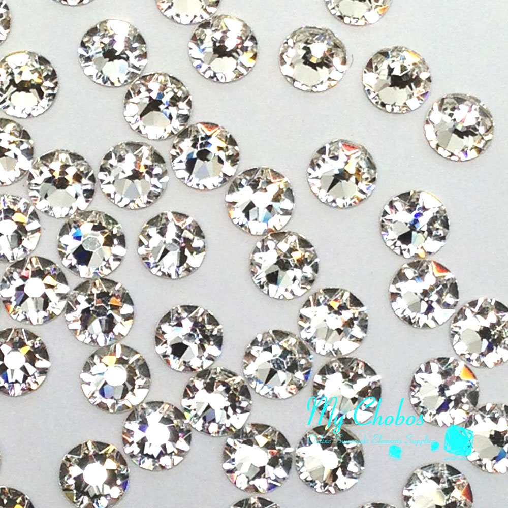 1440 pcs (Factory Pack) Crystal (001) clear Swarovski NEW 2088 Xirius 12ss Flat backs Rhinestones 3mm ss12 by GreatDeal68 (Image #2)