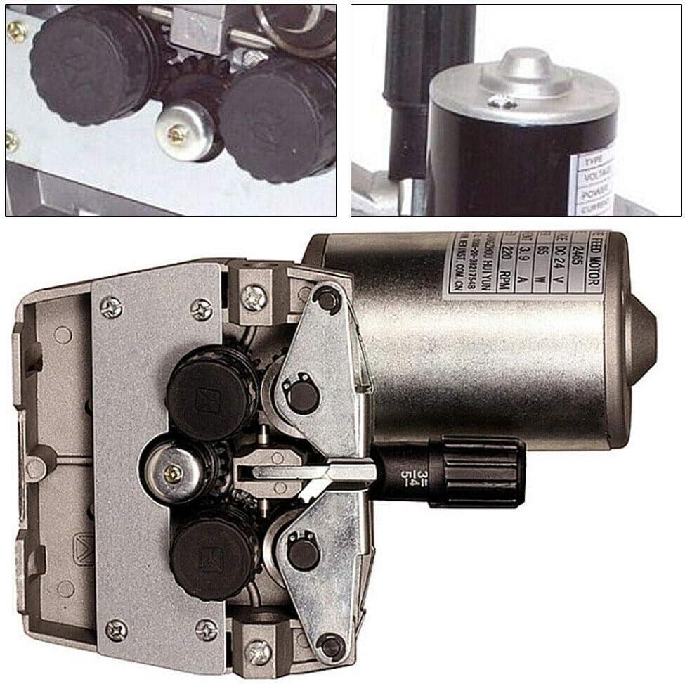 Drahtvorschubeinheit 4-Rollen Drahtvorschub Schweißgerät Vorschubmotor für MAG