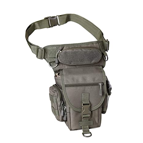 72dd5b4b0460 BondFree Military Drop Leg Pouch Tactical Leg Bag Tools Bags Purse Bum Bag  Fanny Pack Thigh