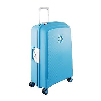 DELSEY Paris Belfort Plus Maleta, 70 cm, 86 Liters, Azul (Bleu Vert): Delsey: Amazon.es: Equipaje