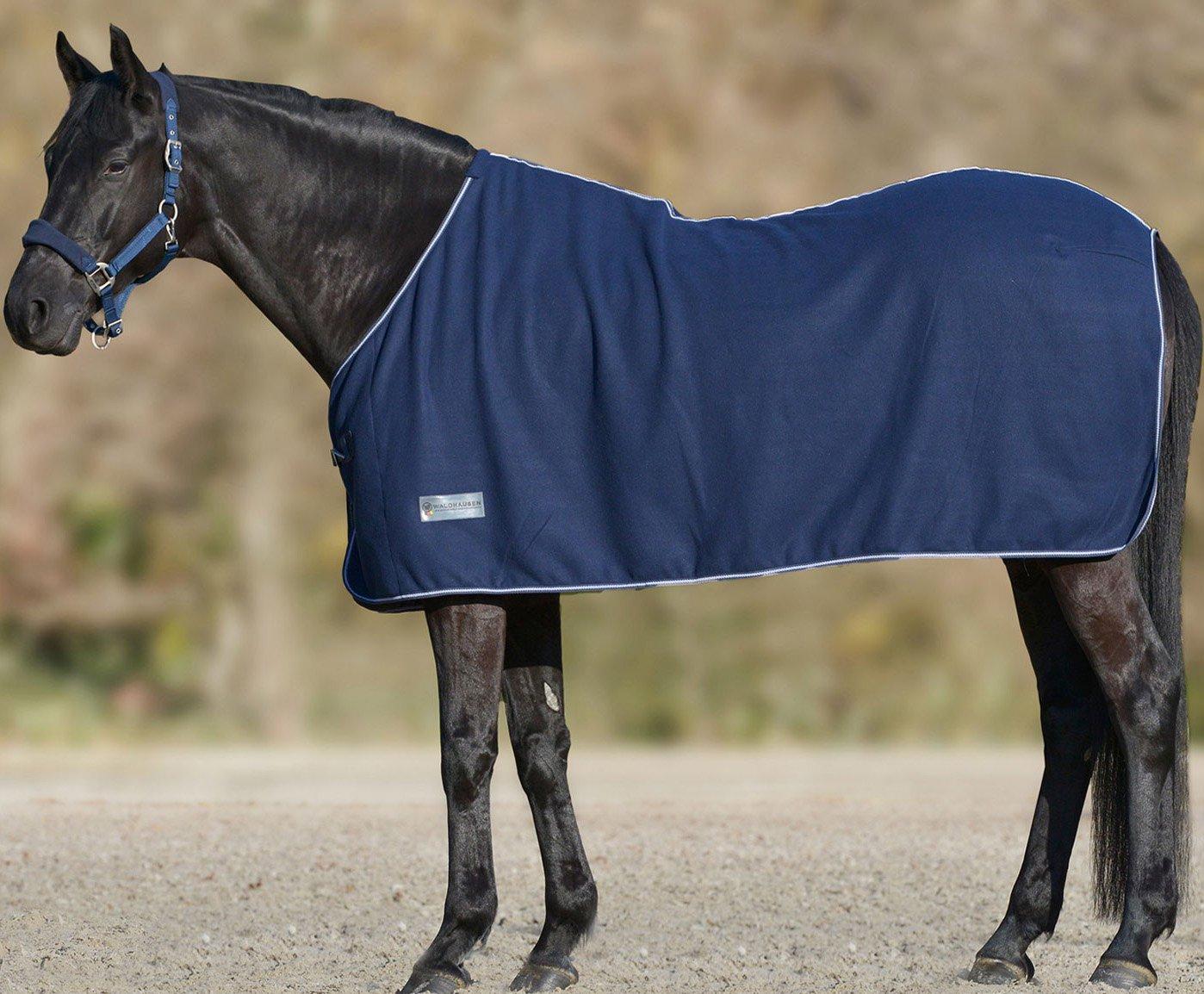 105/cm Misura coperta per cavallo Coperta in Pile Economic Blu Scuro
