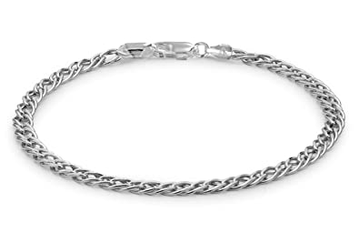 Tuscany Silver Sterling Silver Spiga Bracelet of 18cm/7 rNVkiGsx