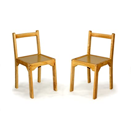 Sterling Games Wooden Chair Set for Chess Table  sc 1 st  Amazon.com & Amazon.com: Sterling Games Wooden Chair Set for Chess Table: Kitchen ...
