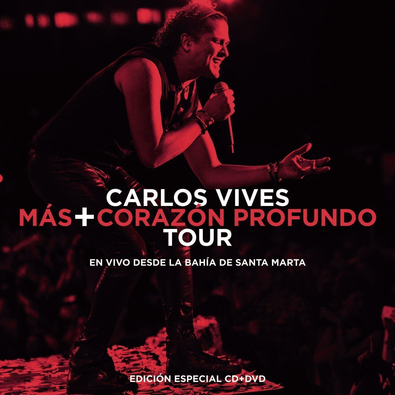 Carlos Vives (Mas+Corazon Profundo Tour CD+DVD ''En vivo desde bahia Santa Marta Sony-904225)