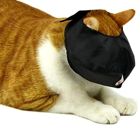 Bozal para gato, protector de boca ajustable, de nailon ...