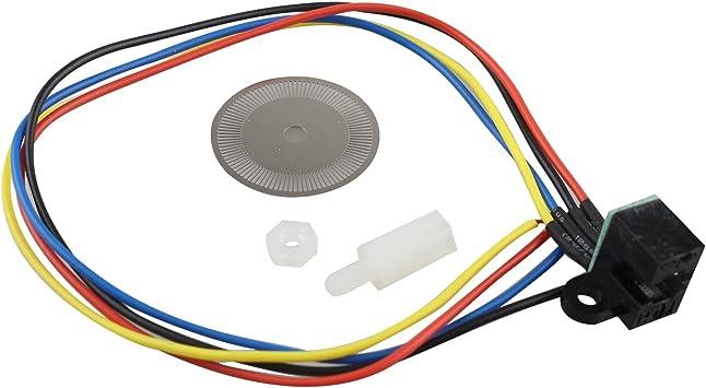 Tacho Generador Sensor de velocidad fotoeléctrico codificador con ...