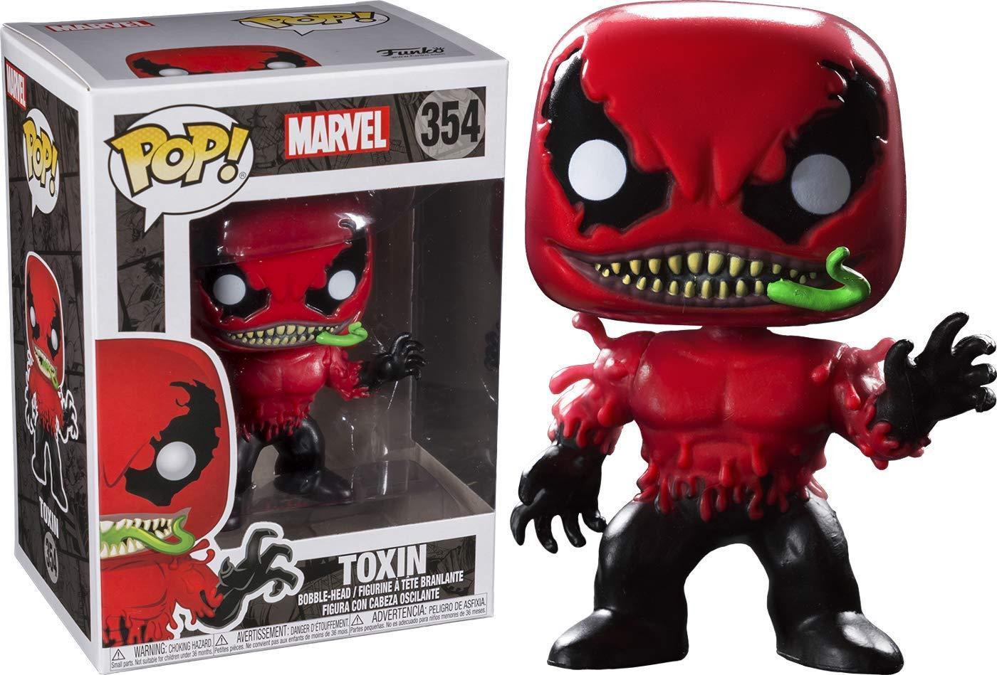 FunKo Pop Marvel  Toxin Collectible Figure 354