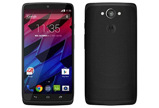 Motorola Moto Turbo XT1225 Unlocked Smartphone 64 GB 21 MP Camera, Turbo Charging