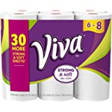 Viva Big Roll Paper Towels, White, 6 Rolls