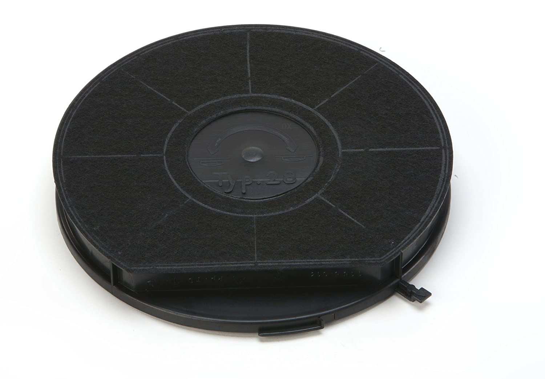Rotary Flex - filtri a carbone attivo/filtro / - filtro a carbone per cappe shirtinstyle/cappe/cibo da AEG Electrolux - // - mulinello Elica Bauknecht - etc, per 50284715005 // 5028471500-5 // Grado 28/Type28/EHFC28 EHFC/28/Typ28 tipo/28/F00173/F00173/S et