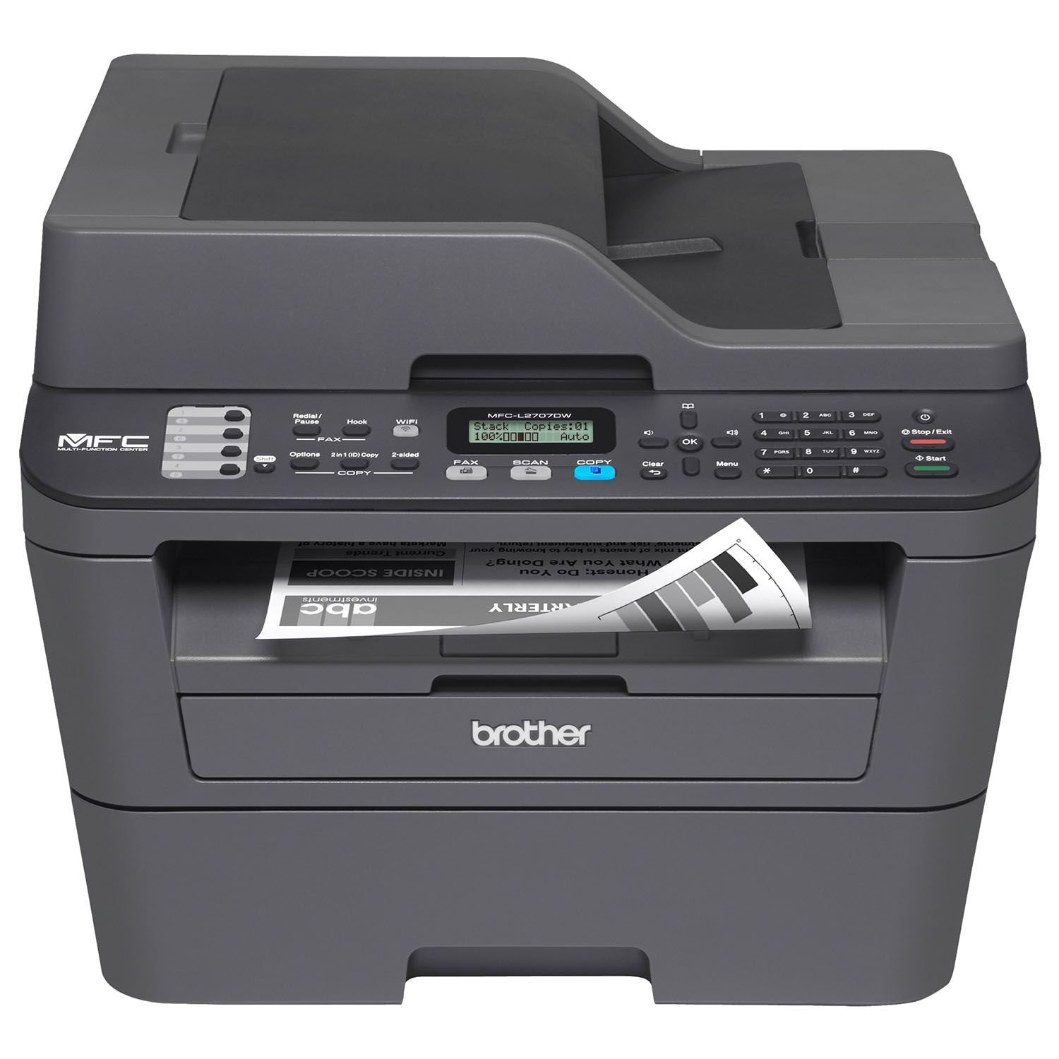 Brother MFC-L2707DW All-in-One Laser Printer by Brother (Image #1)