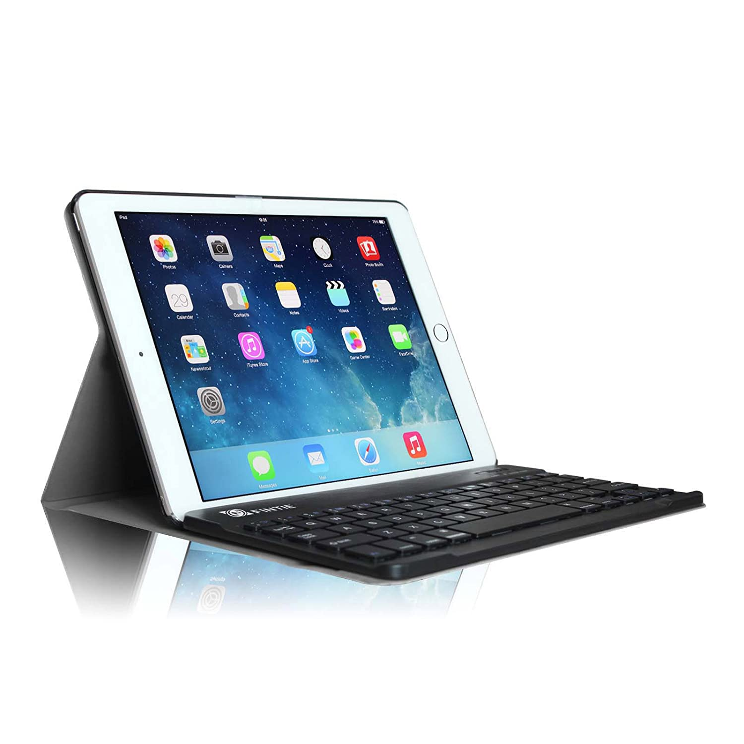 for apple ipad slim leather case cover removable wireless. Black Bedroom Furniture Sets. Home Design Ideas