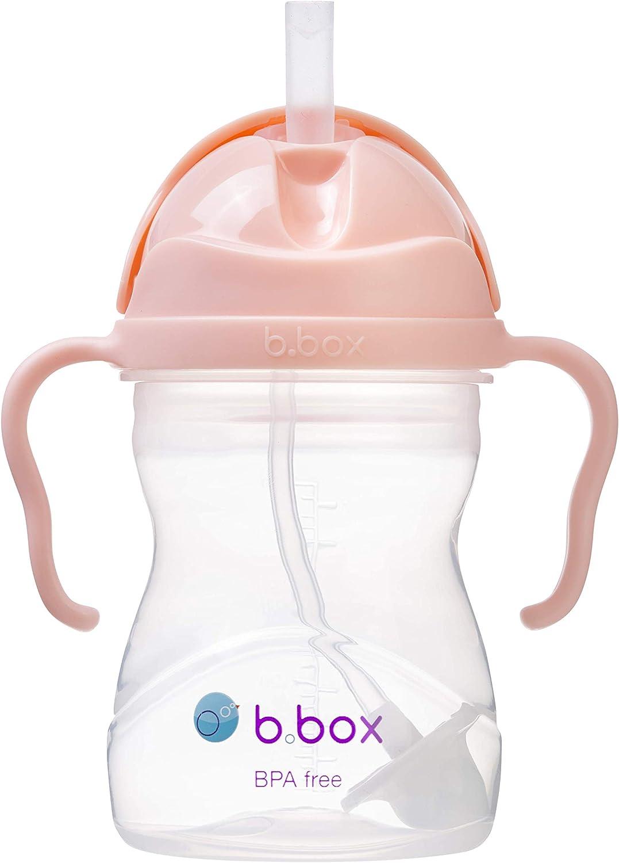 Anti-fuite B/ÉABA 210 ml Poign/ées amovibles Facile /à Ouvrir Windy Blue 100/% /étanche Tasse Paille Enfant Biberon//Tasse dapprentissage 2 en 1 Tritan et Silicone