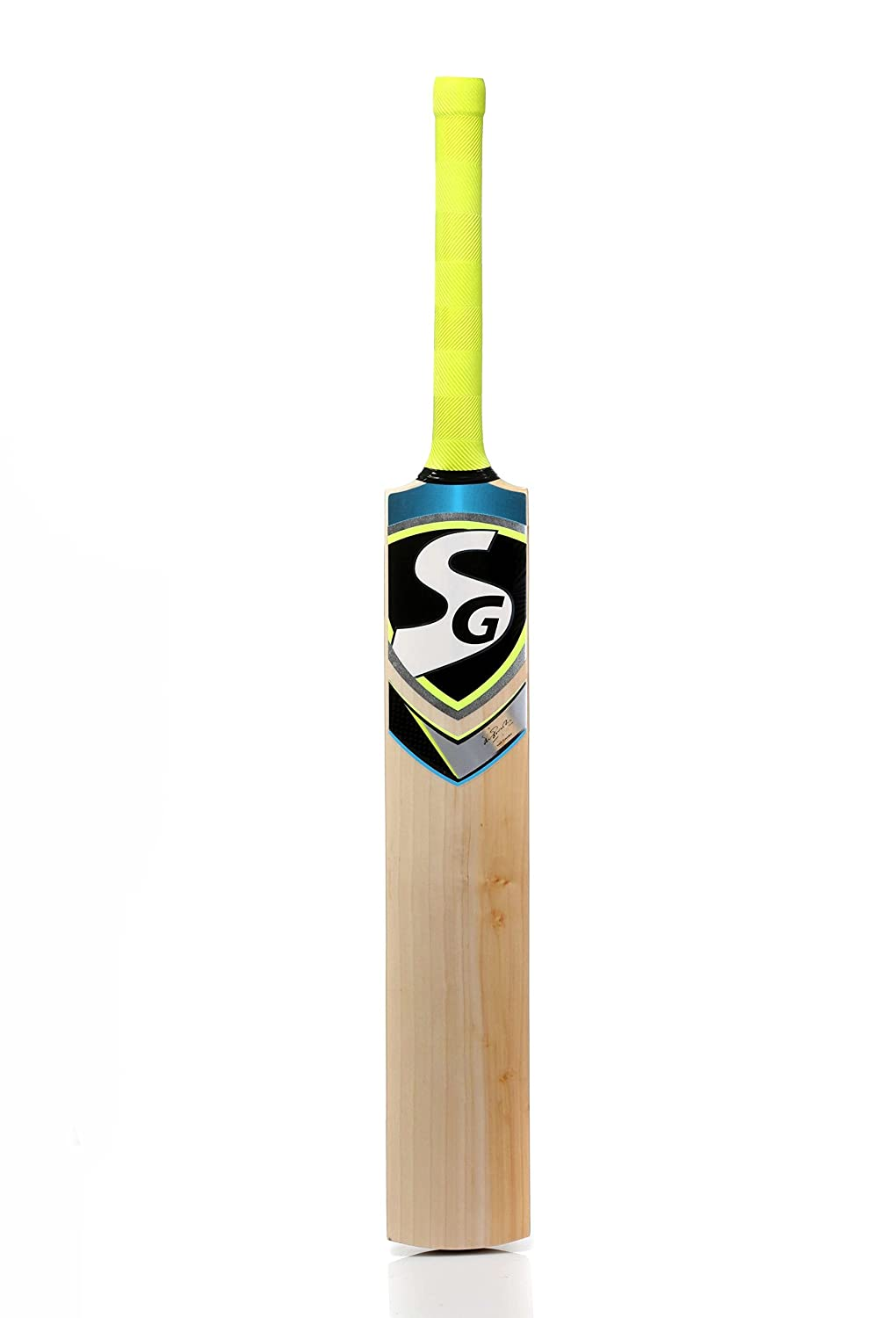 SG Cobra Xtreme English Willow Cricket Bat, Short Handle (Multicolor)