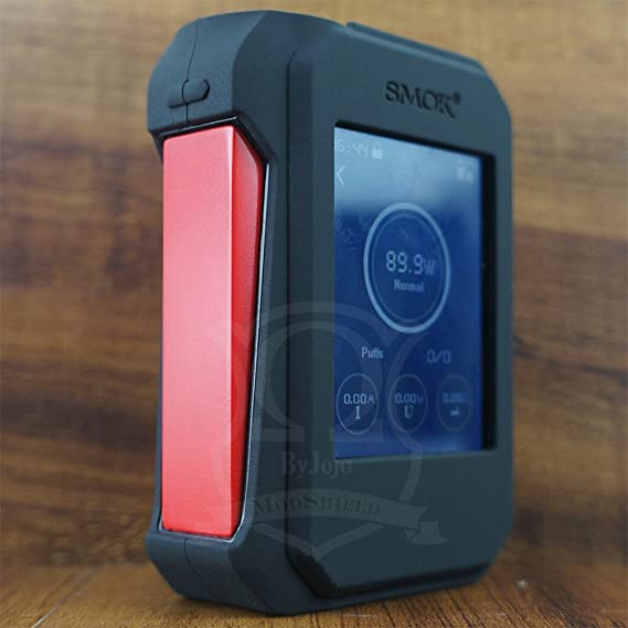 ModShield for Smok G-Priv 220W TC Touch Screen Silicone Case ByJojo G Priv 220 W Skin Cover Wrap Sleeve Shield (Black)