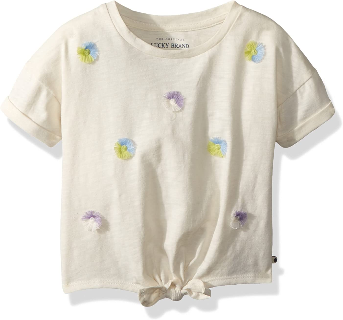Lucky Brand Girls Short Sleeve Fashion Top
